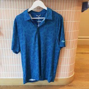 New men's medium golfing shirt